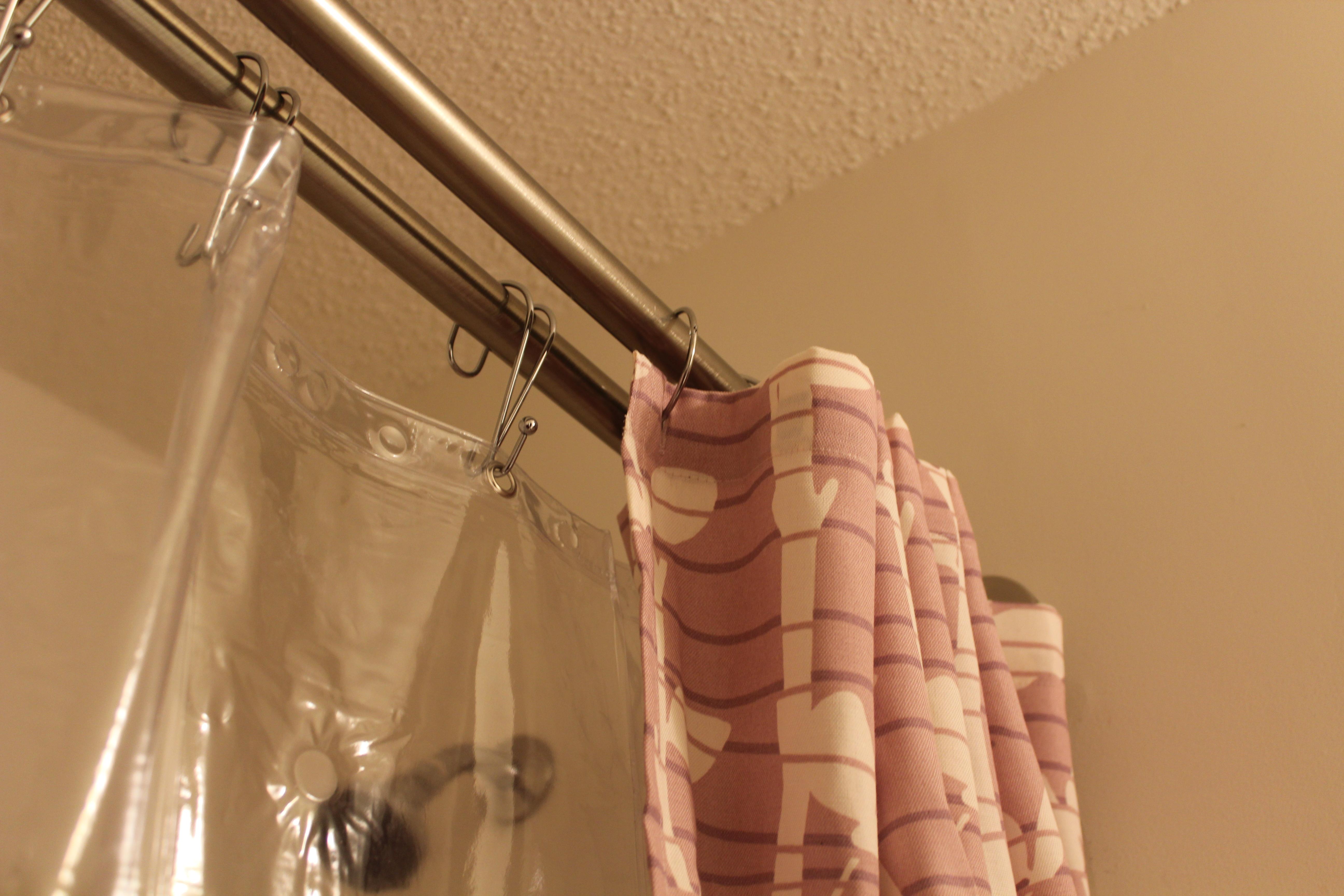 double shower curtain - urevoo